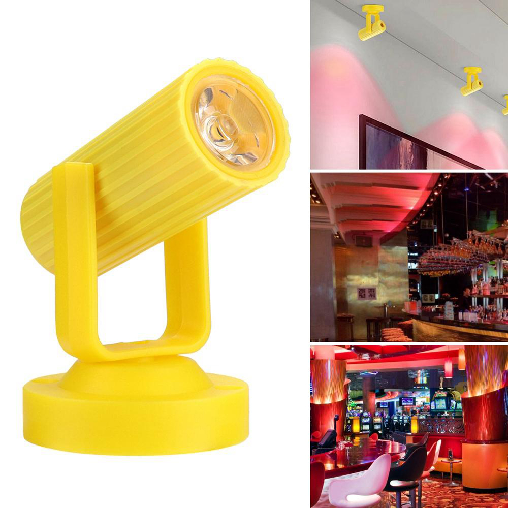 Super Bright Energy Saving Disco Stage Light Plastic Party Effect Lamp Ktv Dj Disco Mini Adjustable Beam Party Home Lights