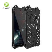 高級バットマンキックスタンド耐衝撃ケース Huawei 社の名誉 10 Lite アルミバンパースキン鎧金属バックカバー