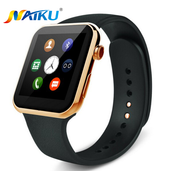 Naiku smartwatch bluetooth a9 smart watch para apple iphone ios android relogio