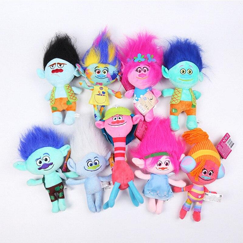20 30cm New Style Poppy Branch Trolls Toy Doll Dream Movie Menina