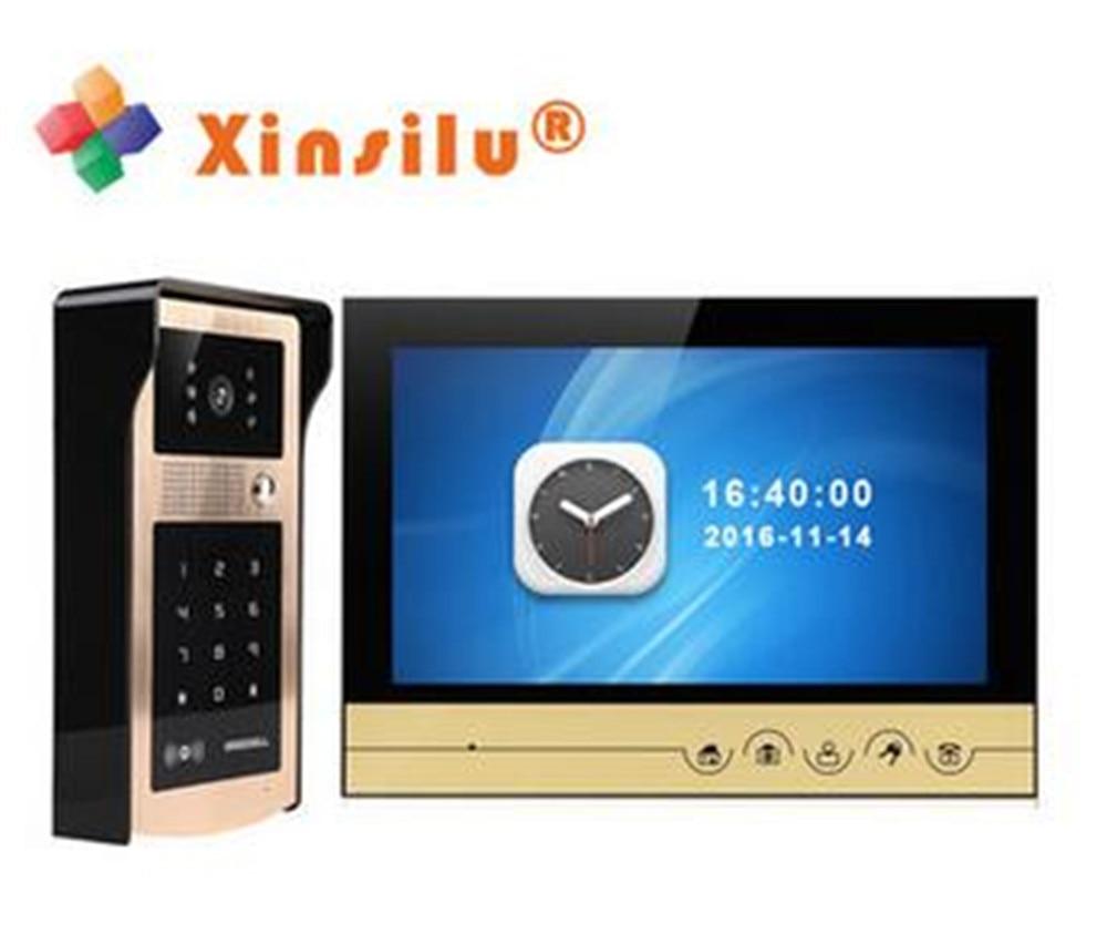 7 Inch Password/ID Card Access Control Video Door Phone