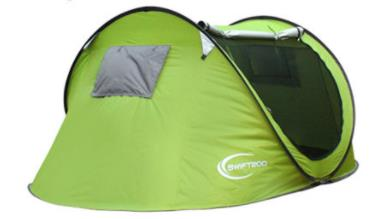 Tent Outdoor 3-4 People Automatic Tent Camping Camping Field Beach Tent