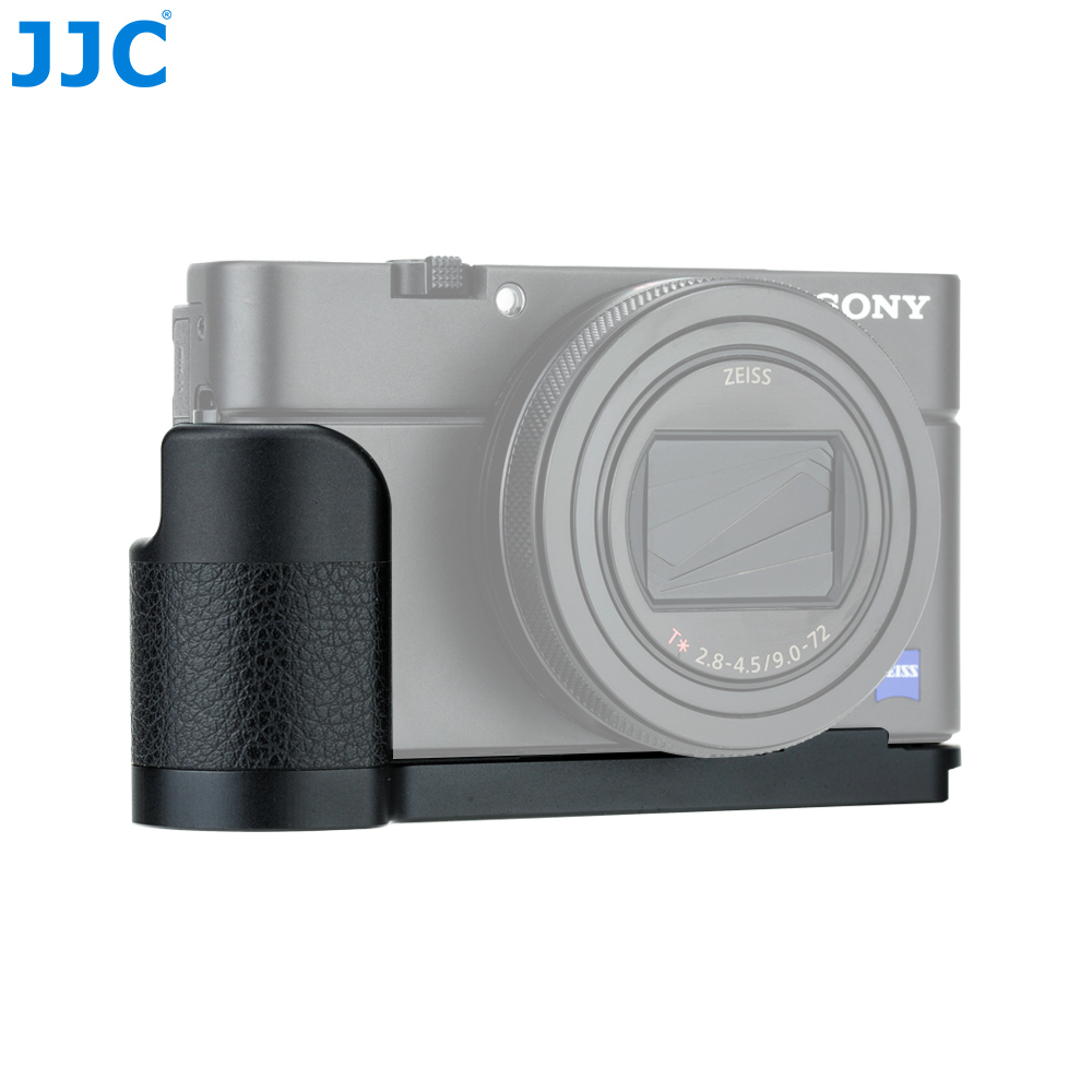 JJC HG RX100 Aluminum Alloy Camera Anti slip Hand Grip for Sony RX100 Series Cameras With