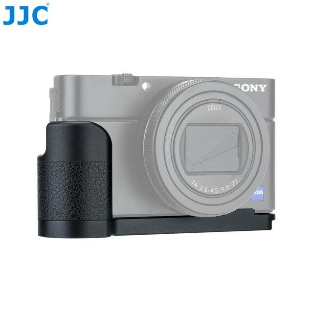 "JJC HG-RX100 Aluminum Alloy Camera Anti-slip Hand Grip for Sony RX100 Series Cameras With 1/4""-20 Tripod Socket"