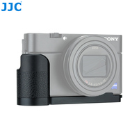 JJC HG RX100 Aluminum Alloy Camera Anti slip Hand Grip for Sony RX100 Series Cameras With 1/4 20 Tripod Socket