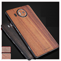 Simple For Microsoft Lumia 950 XL 950xl back stick / wood real wood film after film for Microsoft Lumia 950 case