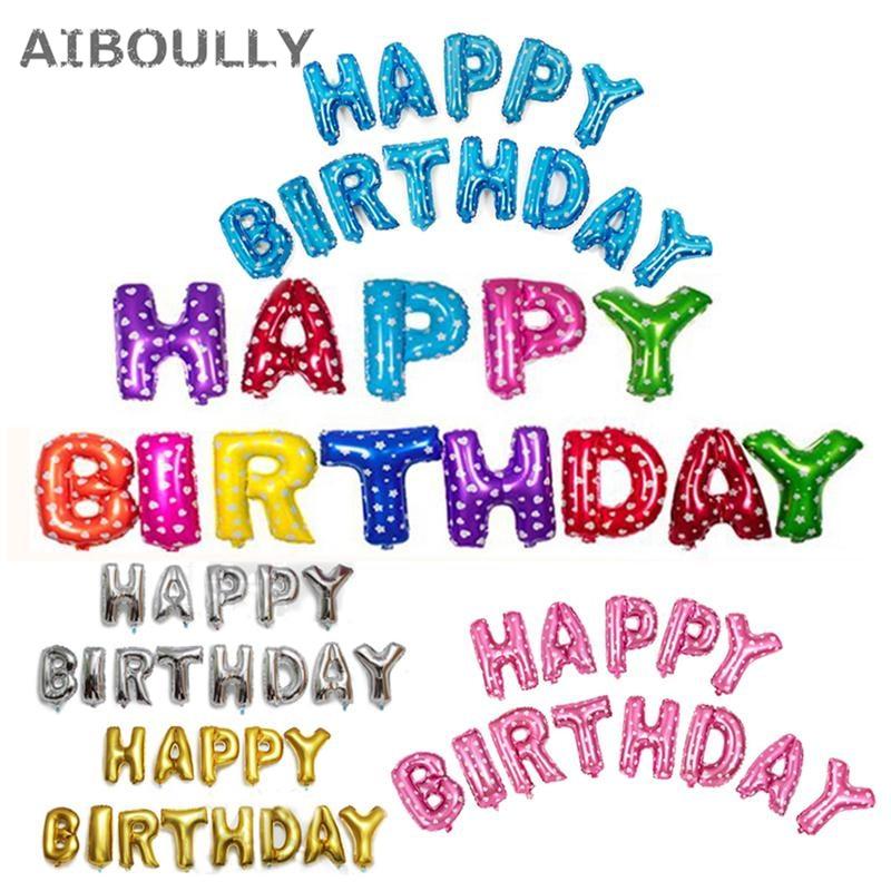16 ინჩი დაბადების დღეზე Balloon - დღესასწაულები და წვეულება - ფოტო 1