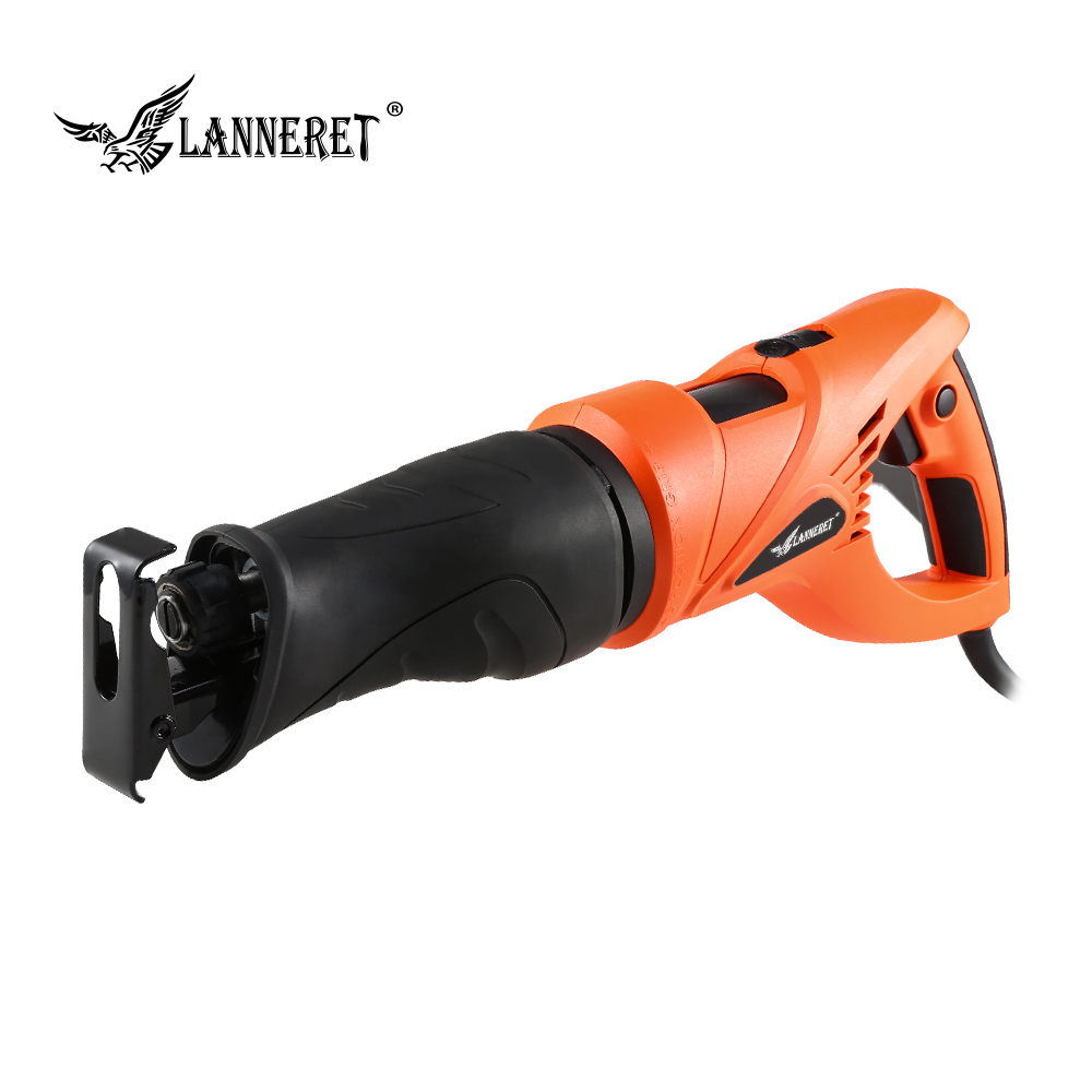 LANNERET 800W Electric Reciprocating Saw Multifunction Saber Hand Saw with Rotating Handle for Wood and Metal Cutting ngk chapters hoops