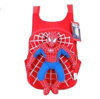 New High Quality Cute 3D Spiderman Boys School Bag Backpack Children Bags Mochila Infantil Kids Travel