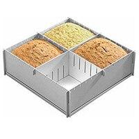 Kek Pan Pişirme Sac Tava Bakeware Set Çok boyutlu DIY Alüminyum Kek Dekorasyon Araçları Ekmek Kalıp