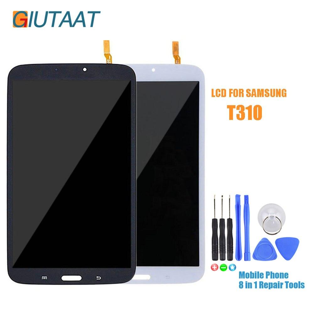 SM T310 LCD pour Samsung Galaxy Tab 3 8.0 SM-T310 affichage LCD matrice d'affichage à cristaux liquides écran tactile numériseur capteur pièces d'assemblage