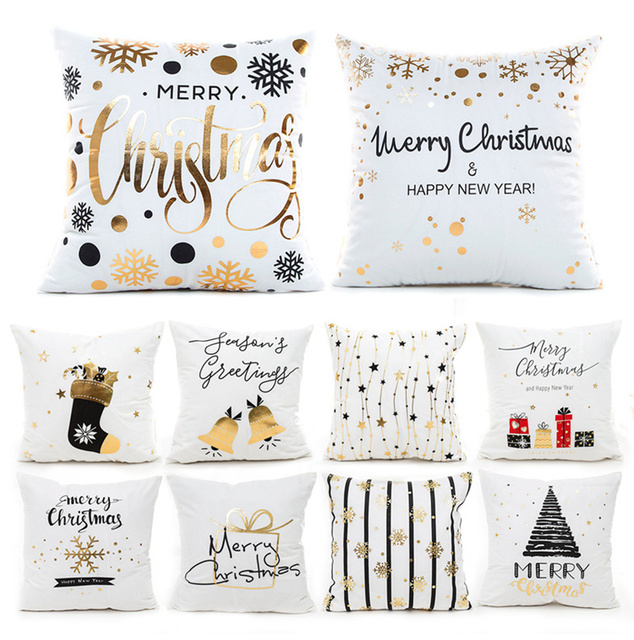 "Christmas Pillow Covers 18""x18"""