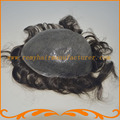 База 8*10 дюймов полная тонкая кожа PU толщиной 0.1 ~ 0.12 мм мужские парики Индийский волосы парик мужчин фондовой бесплатная доставка