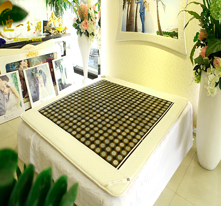 Korea jade mattress tourmaline health products euro spring heated mattress hot new products for 2015 1.0X1.9M