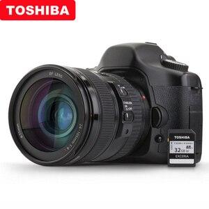Image 5 - 100% Originale Toshiba exceria pro N401 SD flash card scheda di memoria SD UHS I U3 32GB 64GB 128GB class10 4K Ultra HD SDHC SDXC