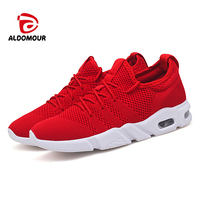 ALDOMOUR 2018 Running Shoes Men's Shoes In Winter Zapatillas Mujer Relaxed Men Sneakers Shoes Men Sport Shoes New Arrival LYT