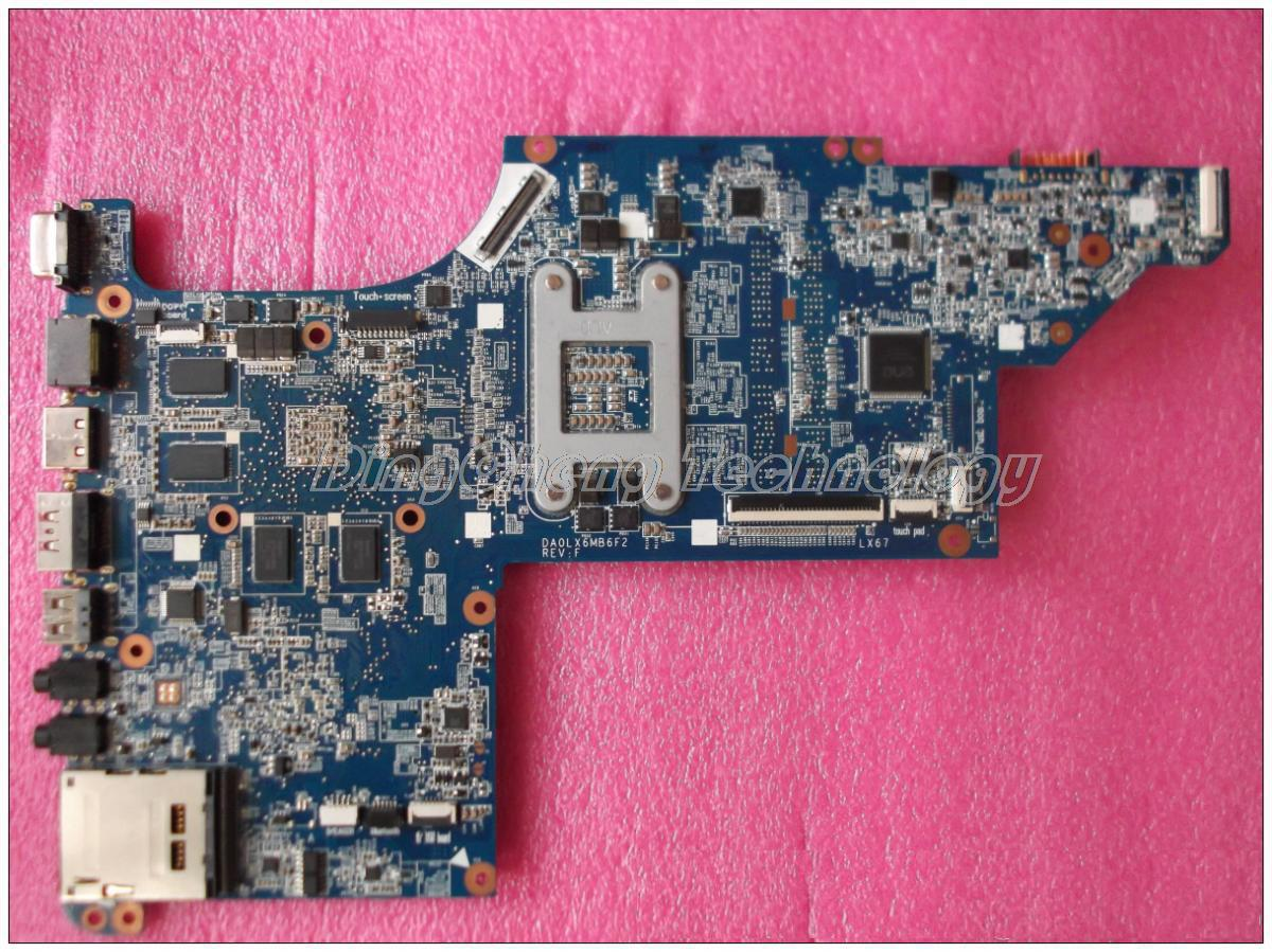 45 days Warranty for hp DV6-3000 DV6T 603642-001 laptop Motherboard 5650/1G non-integrated graphics card 100% fully tested