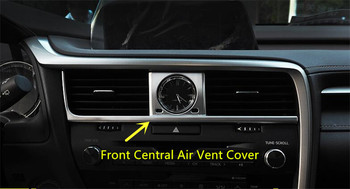 For LEXUS RX200t RX450h 2016 7pcs ABS Interior Air-condition Vent Outlet Cover Trim Auto Accessories !!! New Arrival