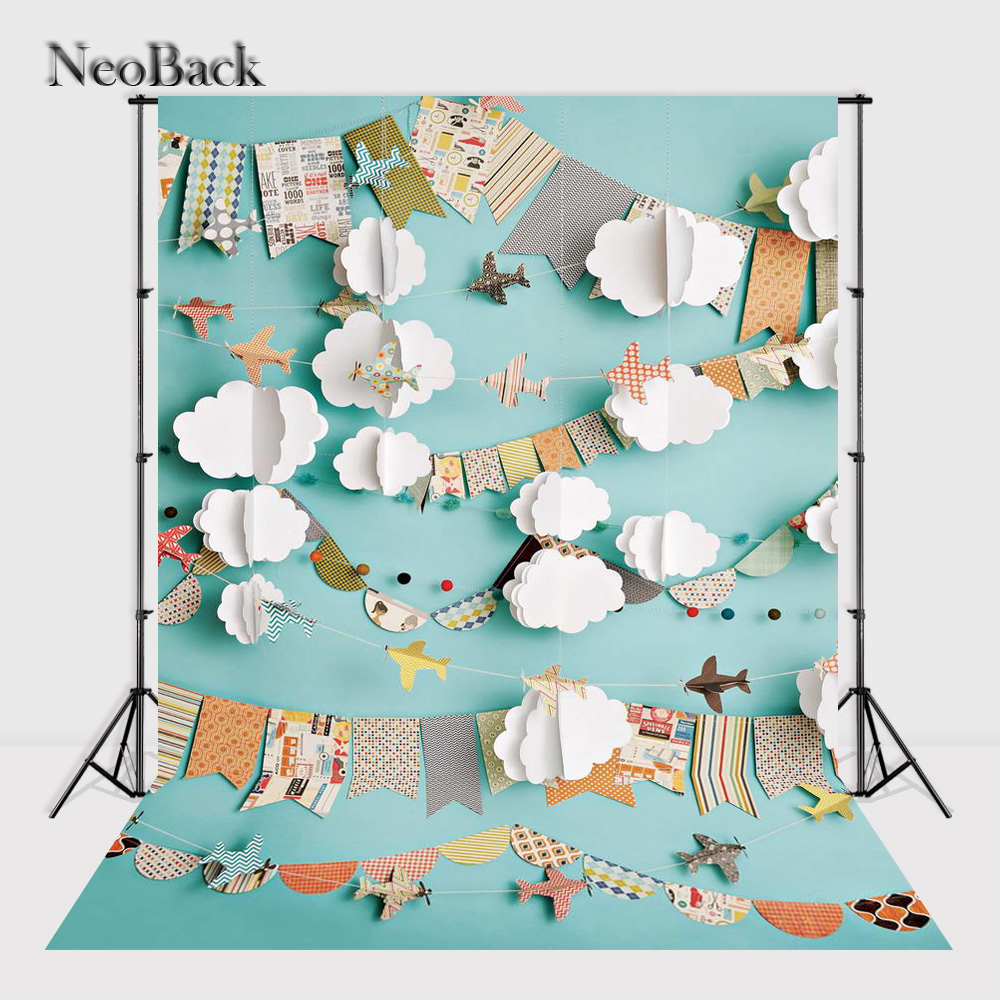 NeoBack 8x12ft Thin Vinyl Photography Backdrops Newborn Baby Photo Backdrop Printed Photo Studio Background P3079 thin vinyl vintage book shelf backdrop book case library book store printed fabric photography background f 2686