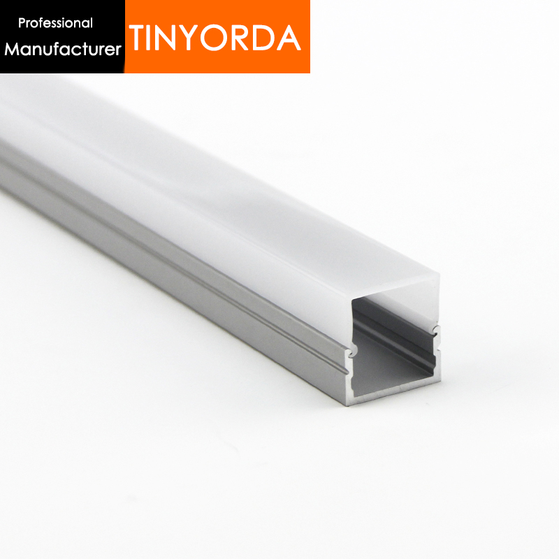 Tinyorda 1000Pcs (1M Length) Wholesale Led Profile for 16mm Strip Light 1000meters [Professional Manufacturer]TAP2016