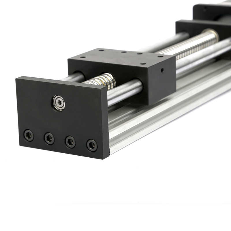 Stage A SFU1204-400mm Linear Guide Rails Linear Actuator System Module Table Ball Screws 400mm SFU1204 Travel Length Guide