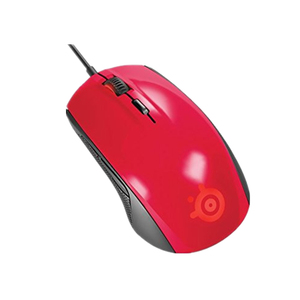 Image 2 - Original SteelSeries Rival 100 Gaming Mouse USB Wired Optical 4000DPI Mice Mouse With Prism RGB Illumination Steelseries Mouse