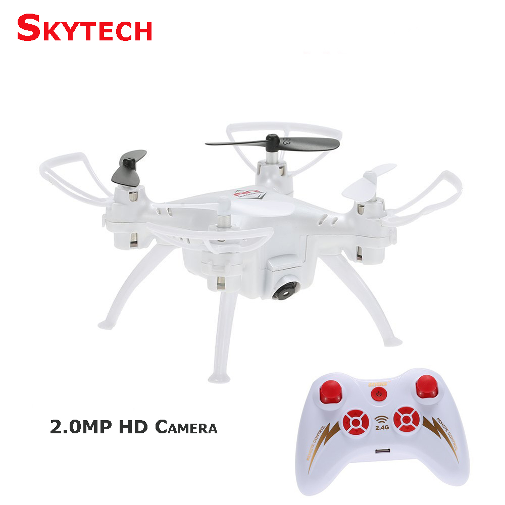 Skytech TK106 Mini Drone 2 0MP Camera Quadcopter with Headless Mode 3D Flips Function RC Quadcopter