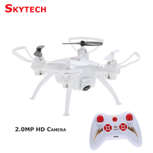 Skytech TK106 Mini Drone 2.0MP Camera Quadcopter with Headless Mode 3D Flips Function RC Quadcopter Quad Copter RTF