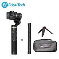 FeiyuTech G6 брызг ручка Gimbal Wifi + Bluetooth OLED Экран действие Камера штатив стабилизатор полюс для Gopro Hero 6 5 RX0