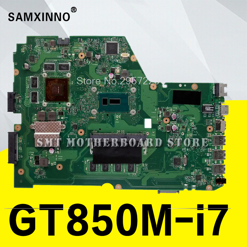 X751LKB Carte Mère I7-GTX850 Pour ASUS A751L K751L X751LK Mère d'ordinateur portable X751LKB Carte Mère X751LKB Carte Mère test 100% OK