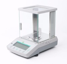 米国固体 220 × 0.0001 グラム 0.1mg 分析バランスラボデジタル電子精密体重計