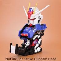 BTF model Cockpit parts for BTF 1/24 GAT X 105 Strike Gundam Head Bust Portrait