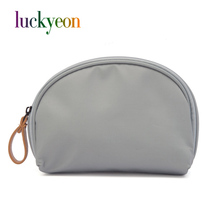 Korean Small Travel Nylon Cosmetic Case Beautician Make Up Bag Portable Large Capacity Makeup Bag Pouch Zipper Clutch Bags