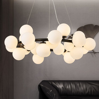 Moderne Kroonluchter Verlichting G4 Led-lampen Art Decoratie Verlichtingsarmaturen Gold Kroonluchter Voor Woonkamer Eetkamer Slaapkamer