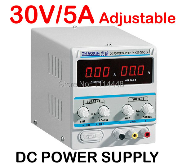 0-30V, 0-5A Output Brand New Digital LED High-power Switching DC Power Supply KXN-305D 0 30v 0 20a output brand new digital adjustable high power switching dc power supply variable 220v