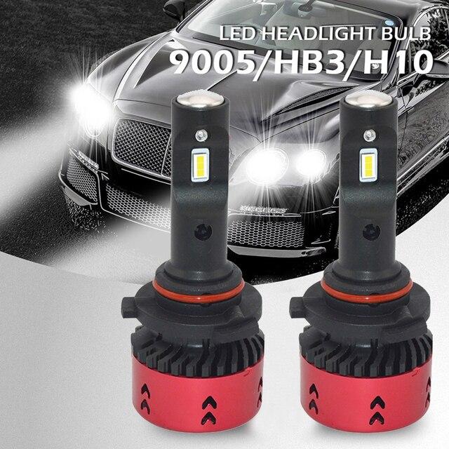2pcs Car Led Headlamp Bulb Mini Type Super Bright H1 H3 H11 H4 H7