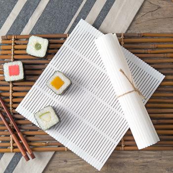 Zestaw domowy vanzlife do przygotowywania rolek sushi narzędzia rolety do robienia rolek foremka do ryżu i zasłon do sushi tanie i dobre opinie Ekologiczne Plastic Bamboo Rolling Mats