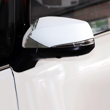 For Toyota RAV4 2019 ABS Chrome Car rearview mirror cover Cover Trim Sticker Car Accessories styling 2PCS