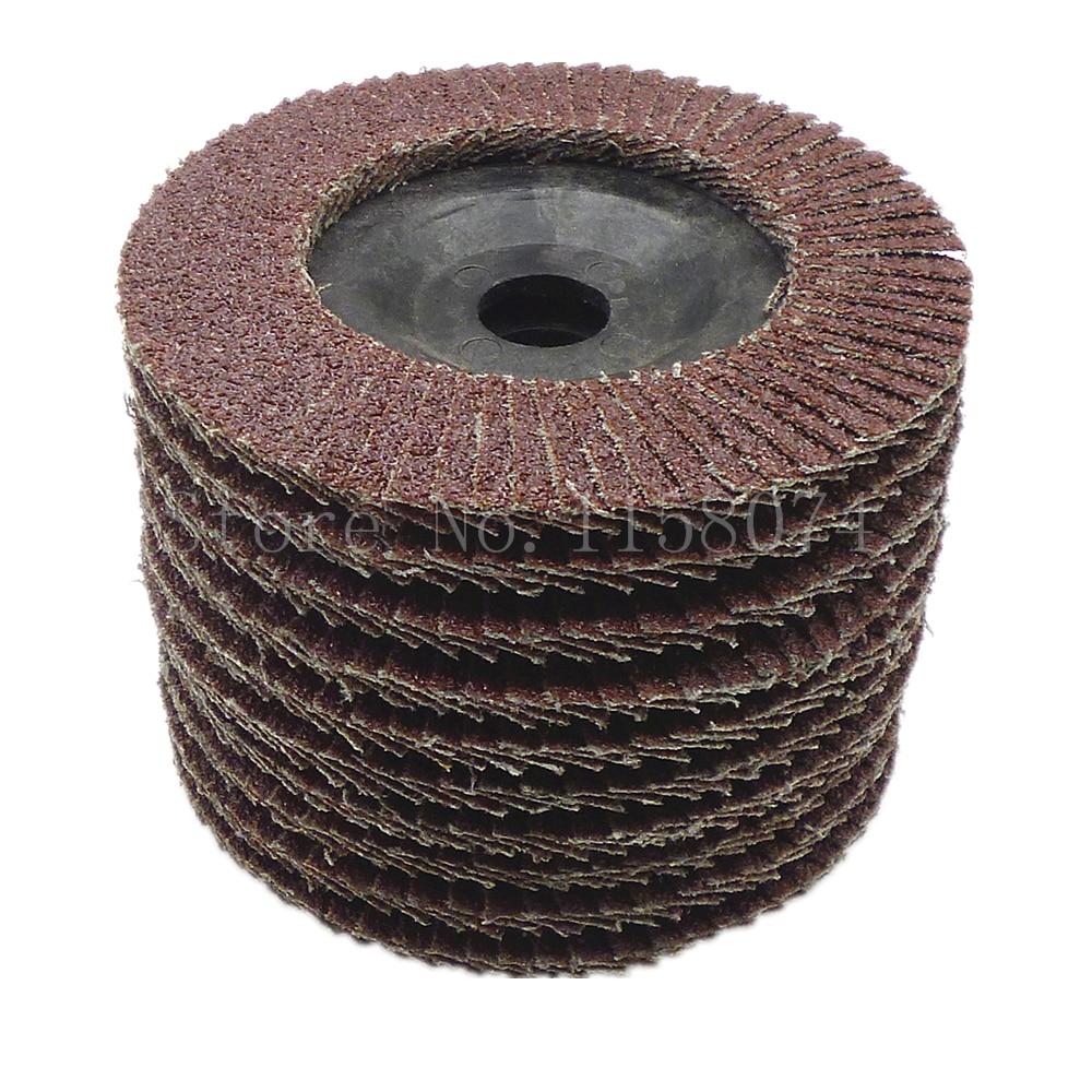 100mm Flap Disc Grinding Sanding Angle Grinder Wheel Sand Paper Grit 60 1Pcs