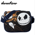 The Nightmare Before Christmas Children Baby Canvas Crossbody Messenger Bag Jack Skellington School Bag
