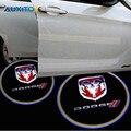 2x СИД Автомобиля Дверь Добро Пожаловать Свет Логотип Проектор Для Dodge Ram 1500 Караван Зарядное Устройство Путешествие X5 Challenger Caliber Nitro Неон Stratus