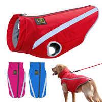 2018 hund Kleidung Große Hunde Mantel Jacke Winter Wasserdicht Haustiere Hund Kleidung Weste Für Medium Large Hunde Bulldog Ropa Perro XL-6XL