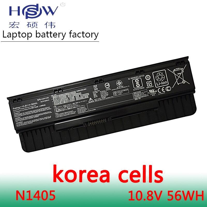 HSW Battery A32N1405 10.8V 56WH For Asus G551 G551J G551JK G551JM G771 G771J G771JK N551J N551JW N551JM N551Z N551ZU Bateria