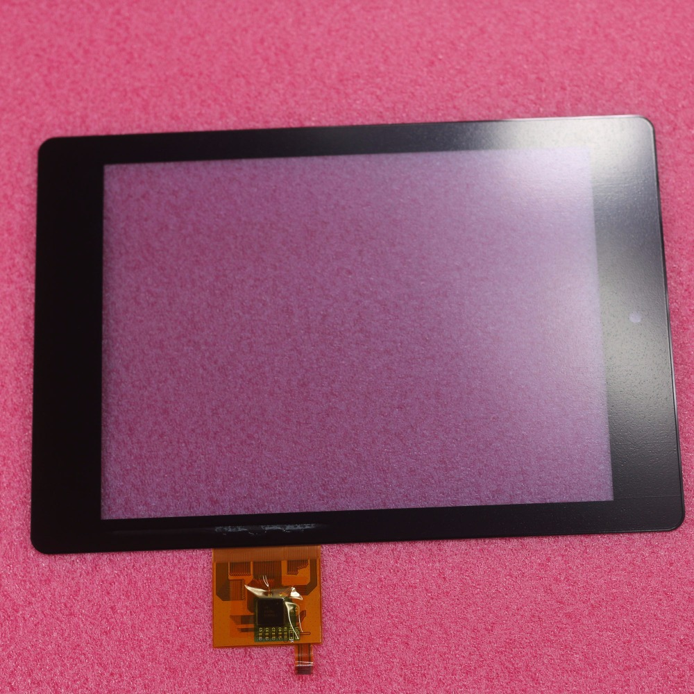 100% New Black Top quality touch screen digitizer Glass For Acer Iconia Tab A1 A1-810 A1-811 parts free shipping