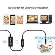 WiFi Endoscope Industrial camera Wireless Borescope Semi-rigid Inspection Camera Waterproof Snake Camera for Android, iPhone