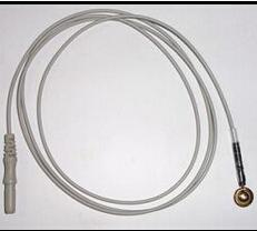 Free Shipping EEG cable,Din 1.5 connector,TPU jacket,EEG PATIENT CABLE ECG CABLE EKG CABLE