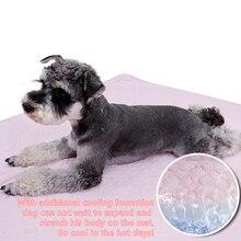 Nová deka pro psy pro kočky Sklopná prodyšná oboustranná k dispozici Cool 2 barvy Velikost S / M / L Dostupné vysoké kvality Pet Bed