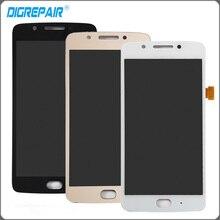 """5.0 """"pouces Noir Blanc D'or Pour Motorola Moto G5 LCD Affichage à L'écran Tactile Digitizer Assemblée Complet Pièces De Rechange"""