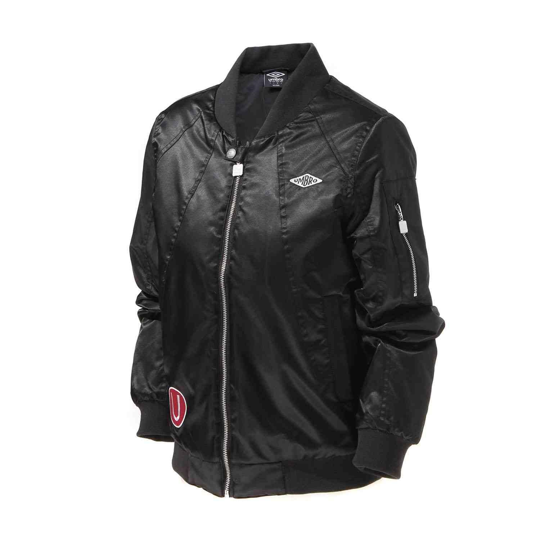 Umbro Quilted Jacket Baseball Coat Rib Sleeve Zipper Short Air Force Baseball Coats Clothing Ucb63744
