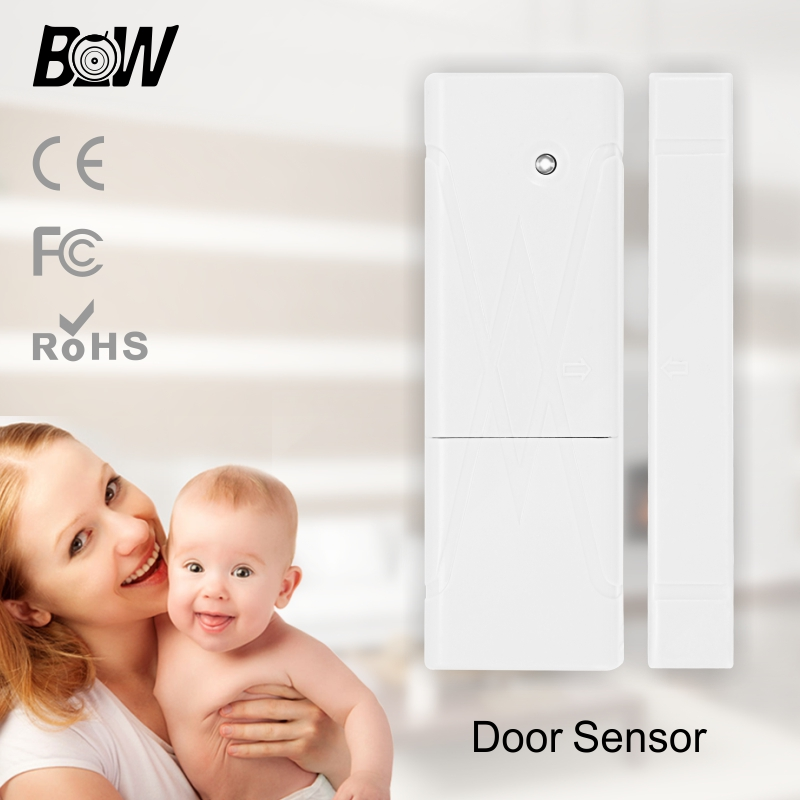 Wireless Wifi Security Automatic Alarm System Mini Door Window Sensor Accessory Siren for Smart IP Camera